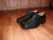 Продам мужские туфли натуральная кожа