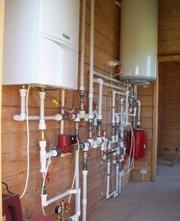Монтаж газовых котлов,  отопления,  водоснабжения