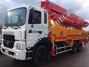 Автобетононасос KCP42RX170(40м) на базе грузовика Hyundai,  2014 года