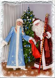 Дед Мороз и Снегурочка поздравят деток на дому!