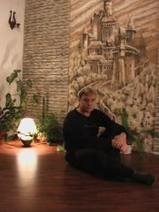 Роспись стен в интерьерах