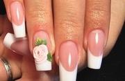 Наращивание ногтей в Омске красиво и качественно